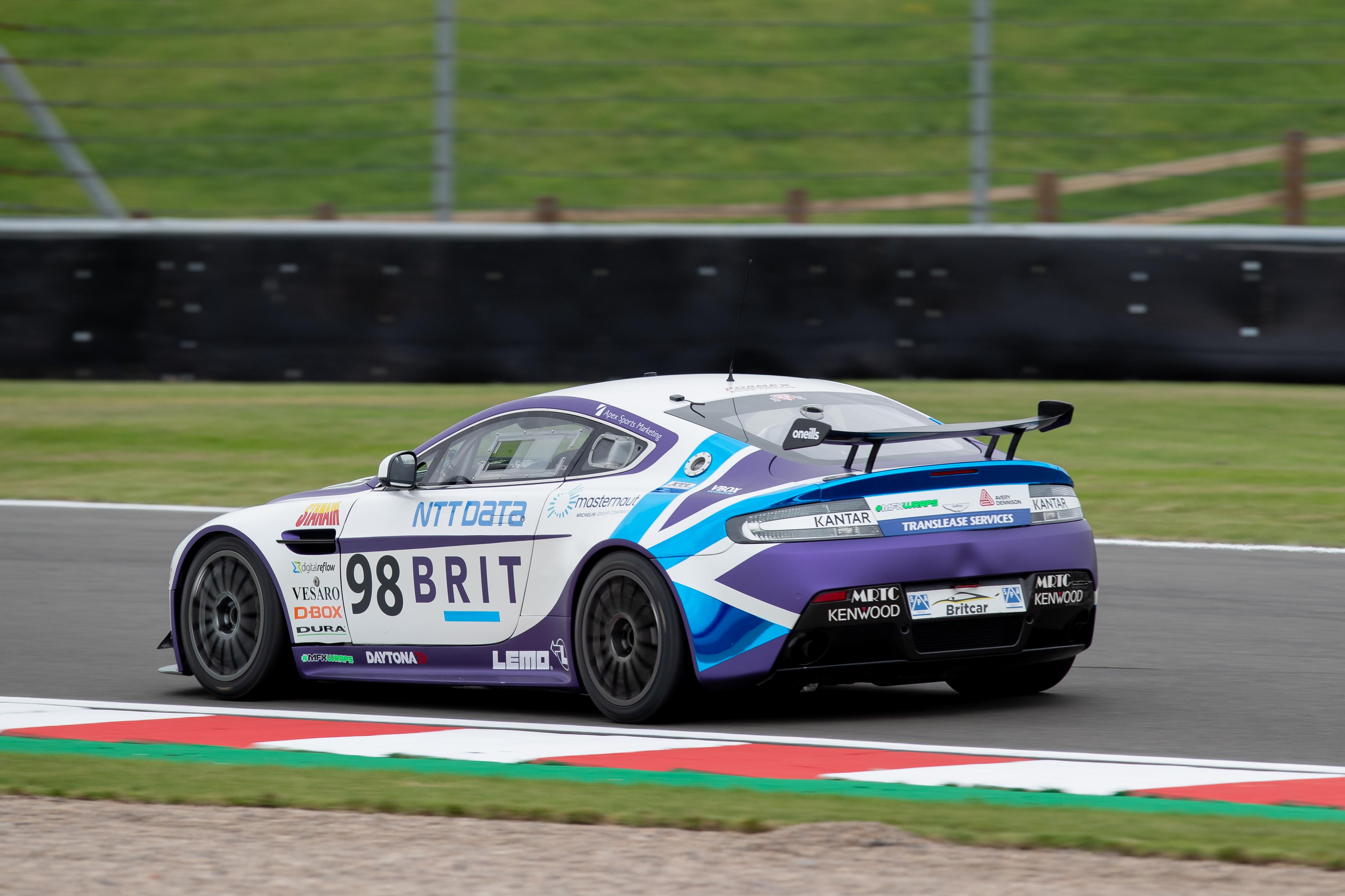 1089Team BRIT Aston Martin Vantage