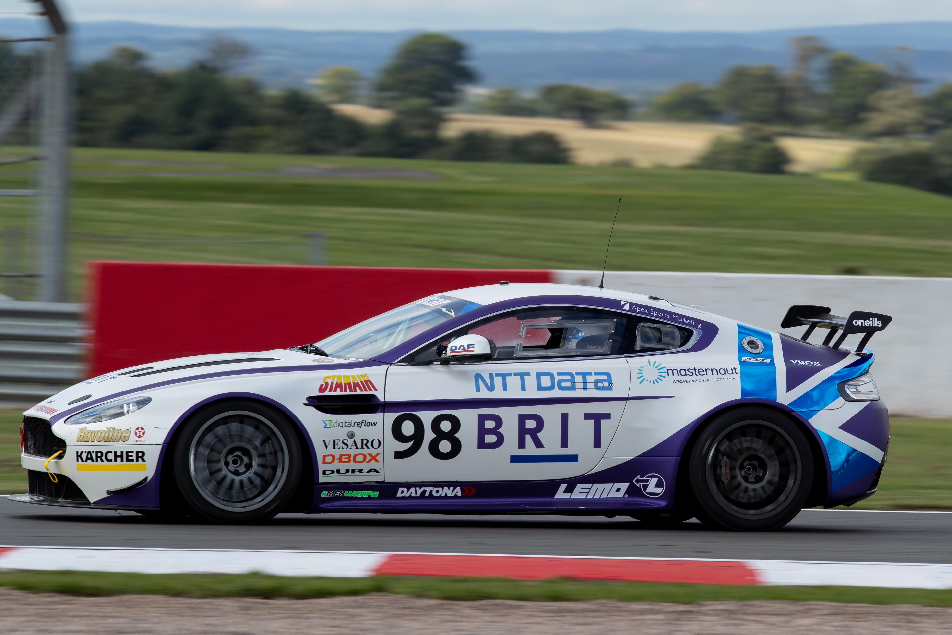1093Team BRIT Aston Martin Vantage